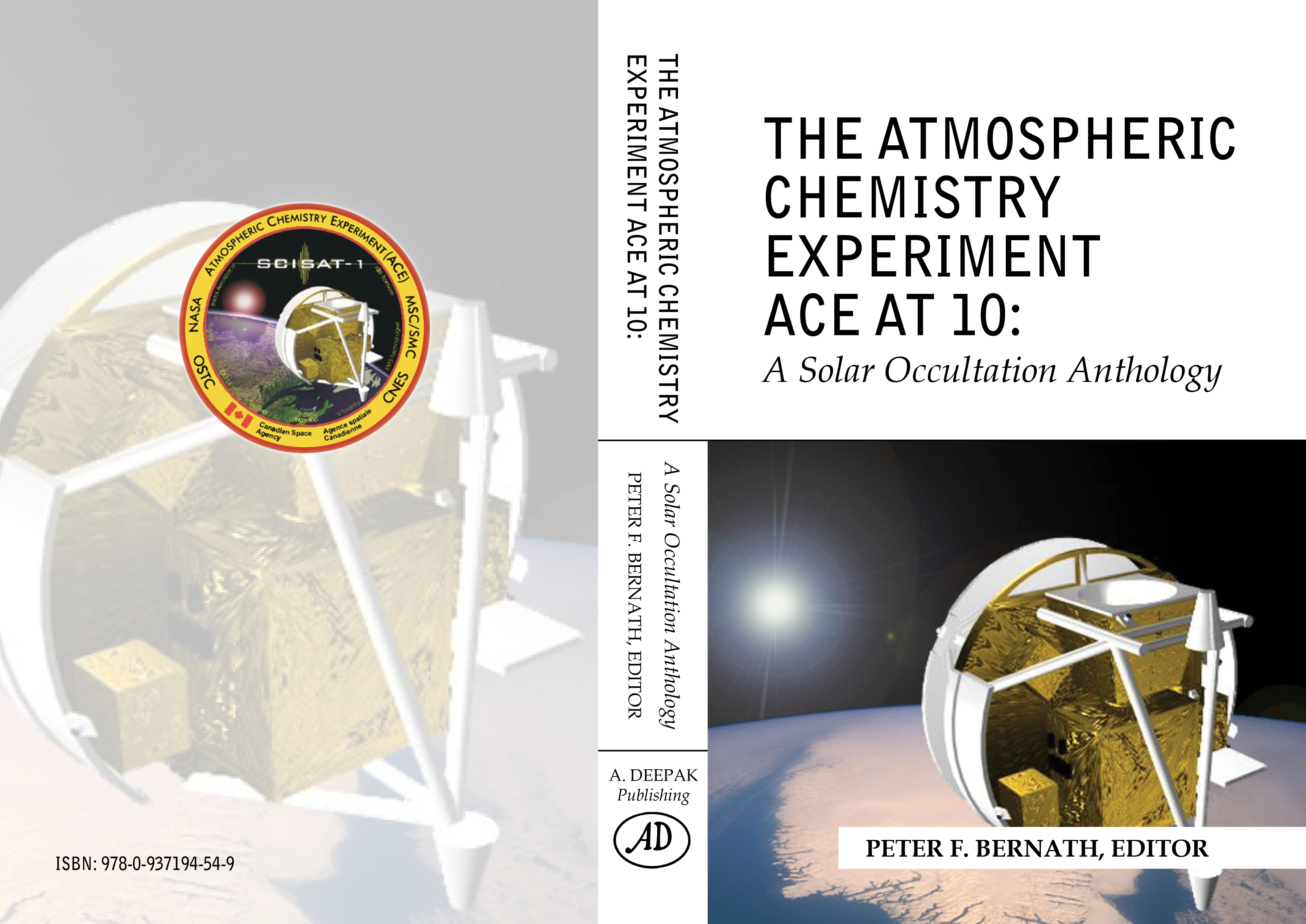 The Atmospheric Chemistry Experiment ACE at 10: A Solar Occultation Anthology Cover