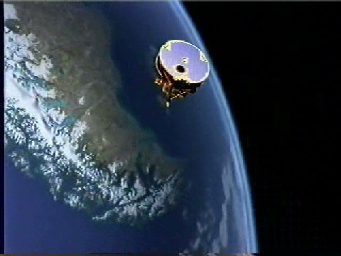 SCISAT-1 in orbit