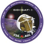 SCISAT-1 Logo, CSA Version